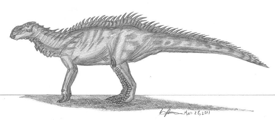 Brachylophosaurus canadiensis by EmperorDinobot