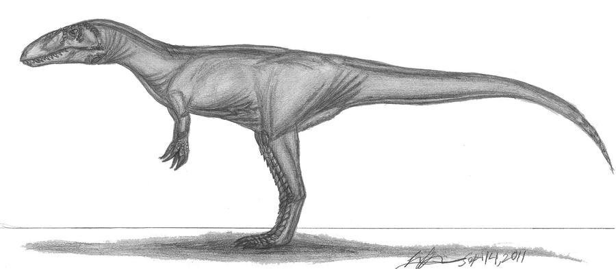 Dubreuillosaurus valesdunensis by EmperorDinobot