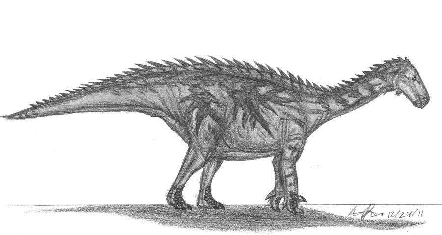 Lurdusaurus arenatus by EmperorDinobot