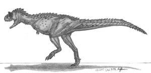 Carnotaurus sastrei by EmperorDinobot
