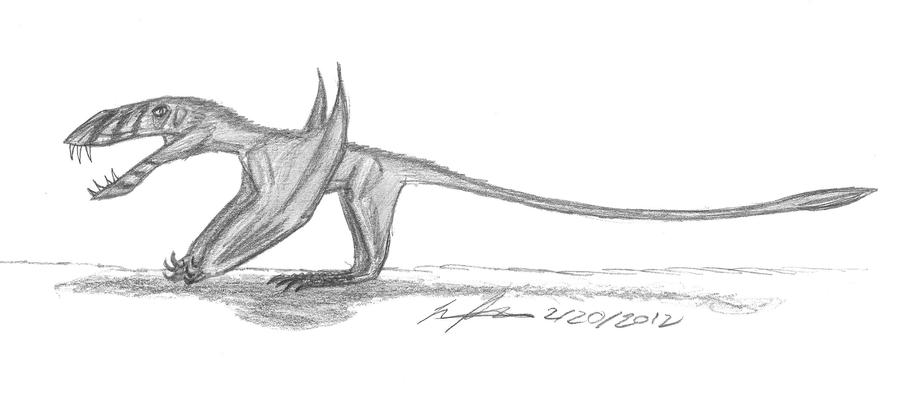 Dimorphodon macronyx by EmperorDinobot