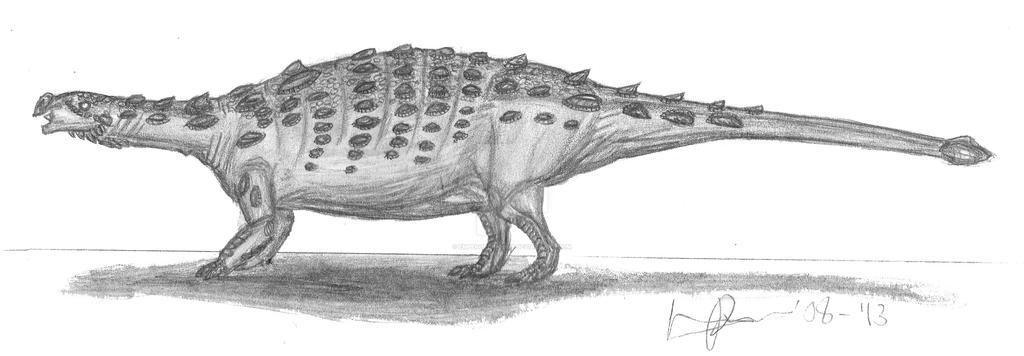 Talarurus plicatospineus by EmperorDinobot