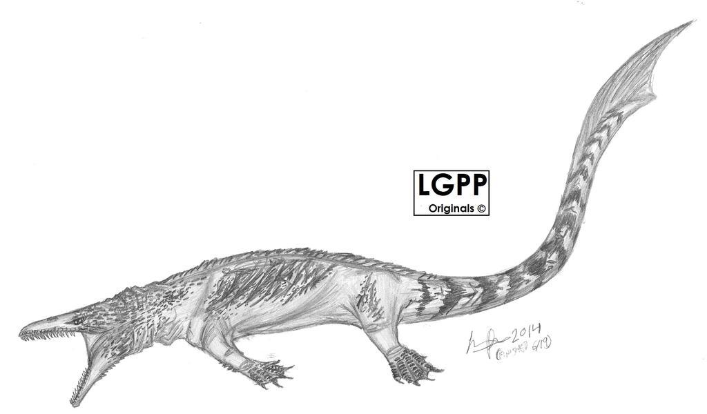 Yaguarasaurus columbianus by EmperorDinobot
