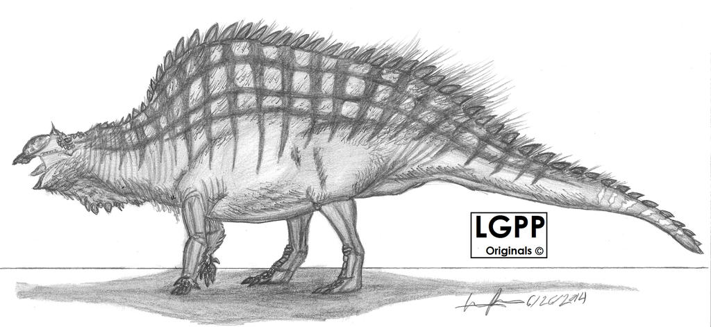 Ouranosaurus nigeriensis by EmperorDinobot
