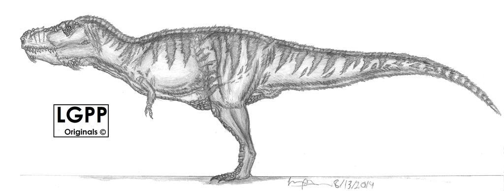 Tyrannosaurus rex version 2 by EmperorDinobot