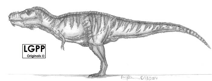Tyrannosaurus rex version 2