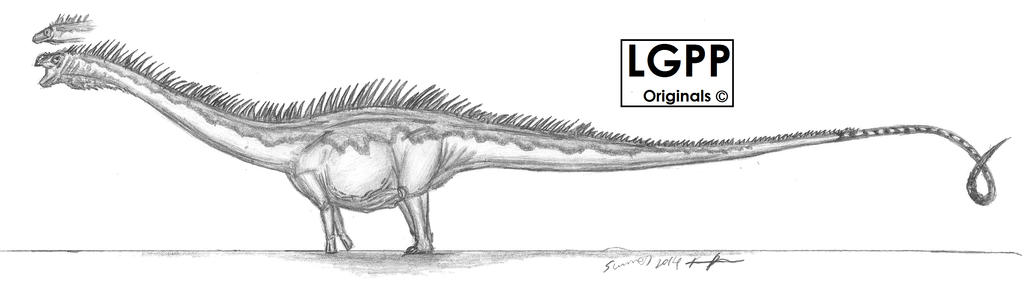 Diplodocus carnegii by EmperorDinobot