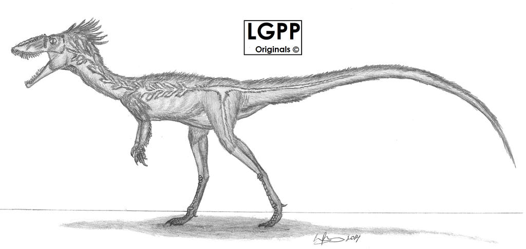 Tachiraptor admirabilis by EmperorDinobot