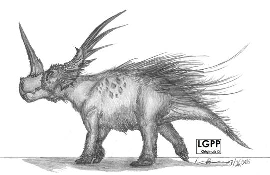 Styracosaurus albertensis
