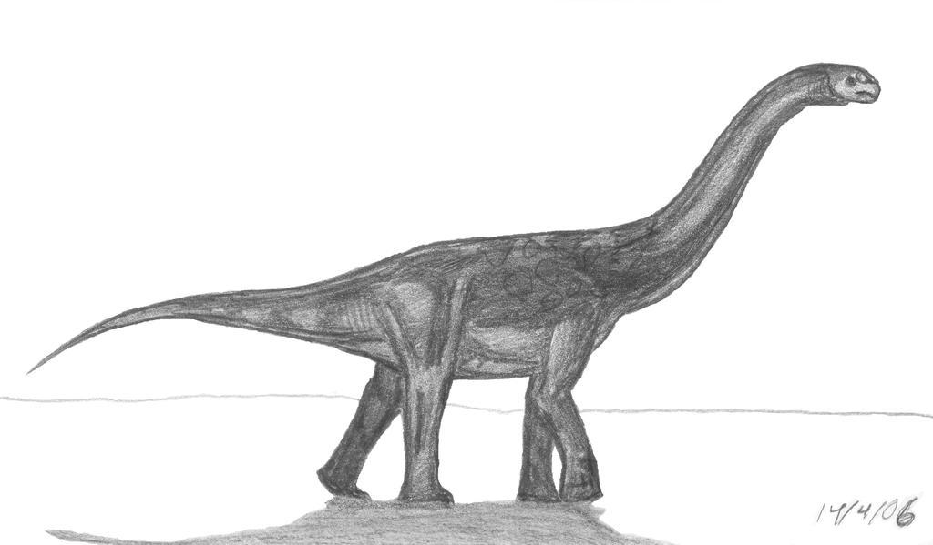 Aragosaurus ischiaticus by EmperorDinobot