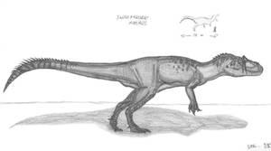 Saurophaganax maximus by EmperorDinobot
