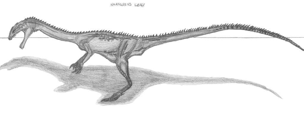 Noasaurus leali by EmperorDinobot