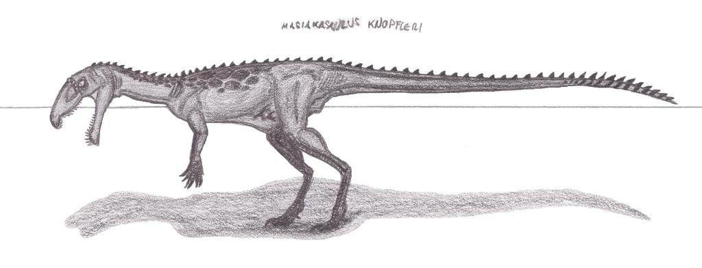 Masiakasaurus knopfleri by EmperorDinobot