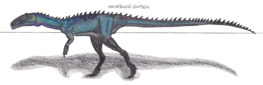 Masiakasaurus knopfleri color by EmperorDinobot