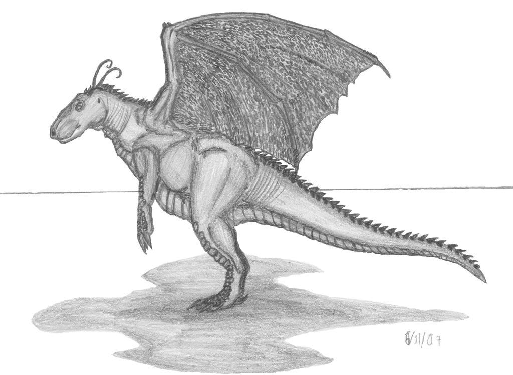 Dragonite realistic by EmperorDinobot