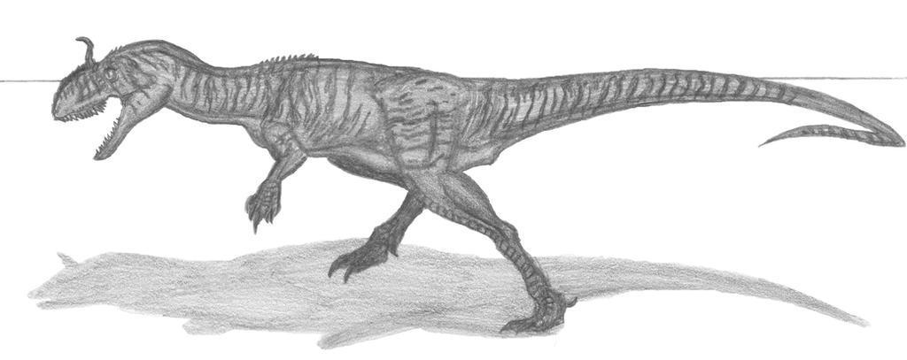Cryolophosaurus ellioti by EmperorDinobot
