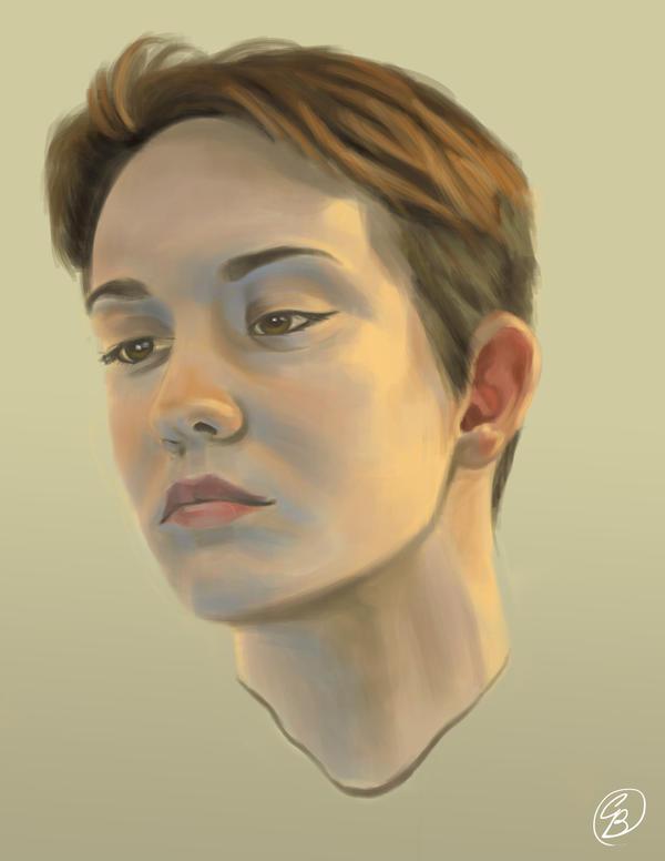Self Portrait by Dervila