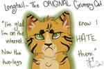 Longtail- The ORIGINAL Grumpy Cat