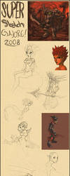 Super Sketch Galore II by Deks-Designs