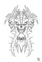 Skull Tattoo by Deks-Designs