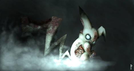 Zombie Pikachu by Deks-Designs