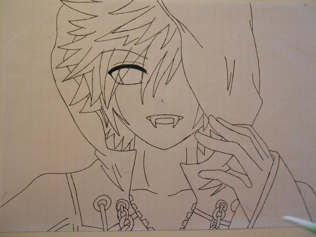 Pictures Of Anime Vampire Male Drawing Kidskunst Info