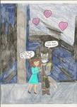 Kimeria belated birthday by Subarufoxboy
