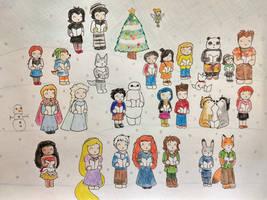 RotBTD: Happy Holiday Caroling by Subarufoxboy