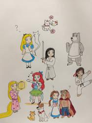 Disney Goes Japan by Subarufoxboy