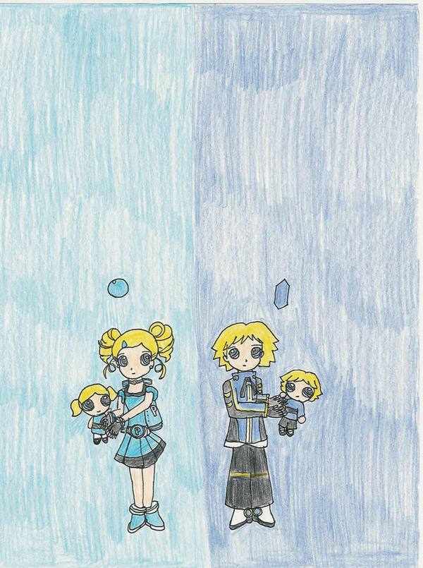 Bubbles and Boomer by Subarufoxboy