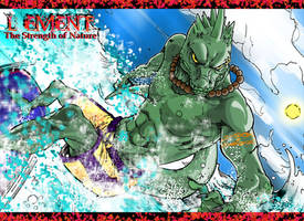 L-ement, the Lizard -Color by sirkrozz