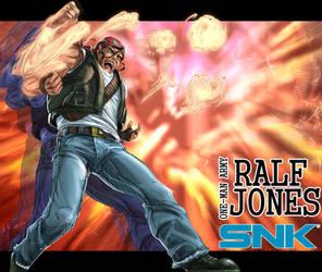 -Fanart- Ikari Warriors' One-man Army Ralf Jones by sirkrozz