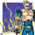 [Fanart] Capcom's Captain Commando by sirkrozz