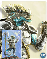 [FIverr Gig] - Dragonborn Paladin