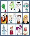 my favorite cartoon characters