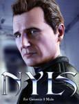 Liam Neeson  Genesis 8 daz poser by ForRender