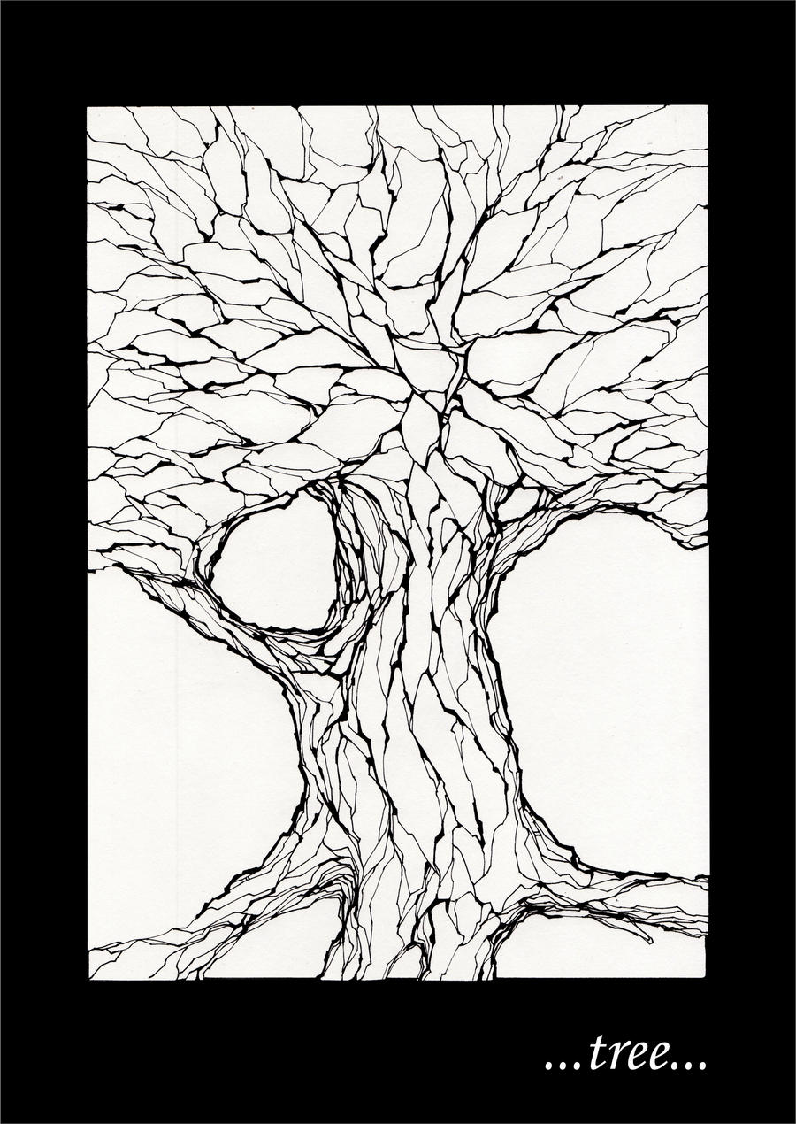 stone tree by PFarchangel