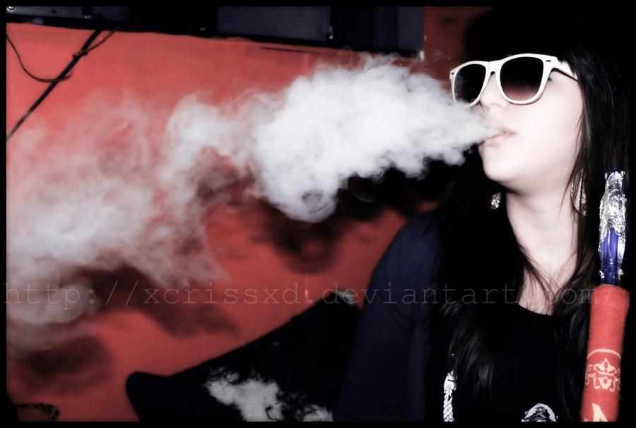 Shisha smoke. by XcrissXD