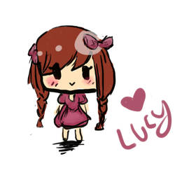 Lucy Chibi by shannonILY2