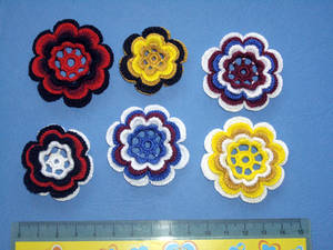 different simple flowers - 1
