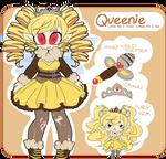 Queenie Ref by undead-alien