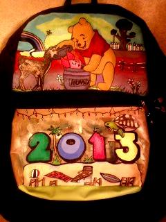 Winnie The Pooh Schoolbag by Nostalgia-Air