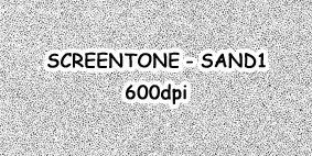 Screentone - Sand1