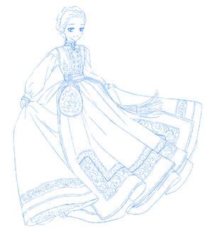 Sketchtember #13 - Bunad