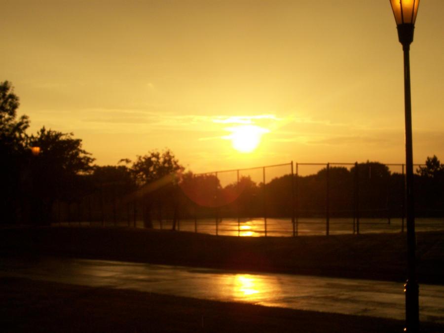 Amazing Sunset by Ai-Okashi