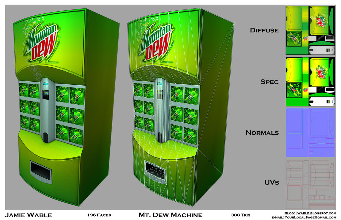 mountain dew machine