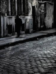 dark street by chryztoph