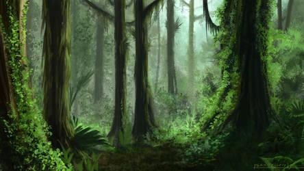 Environment 029 - Rainforest