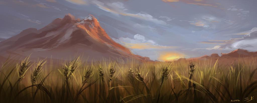 Suryasta. (Praderas) Morning_fields_by_rynkadraws-d62abl9