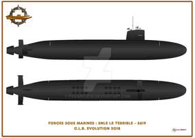 Triomphant-class ballistic missile submarine